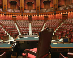 (Montecitorio) Camera dei Deputati chiusa