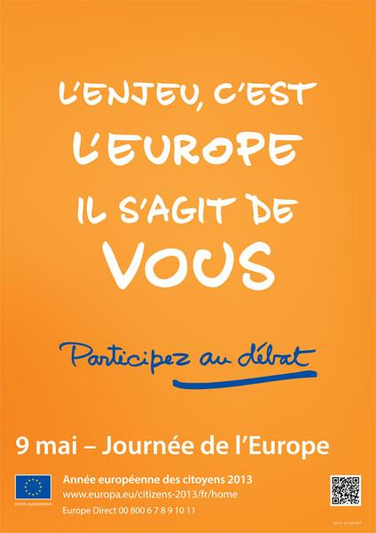 9 mai 2013 - Journée de l'Europe